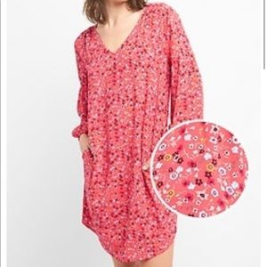 Nwt • floral dress long sleeve dress